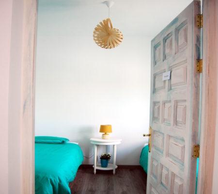 Alojamiento en habitación doble de uso individual